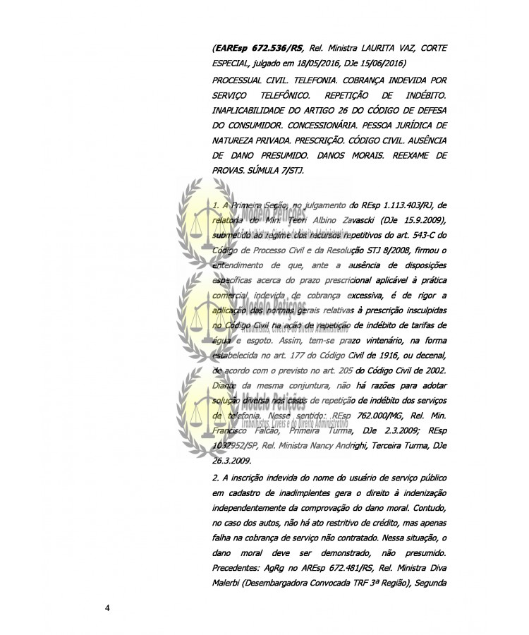 Modelo Recurso De Apelação Cível Do Autor Consumidor